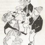 Folkdans på lekstuga